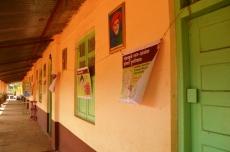 Posters in school
